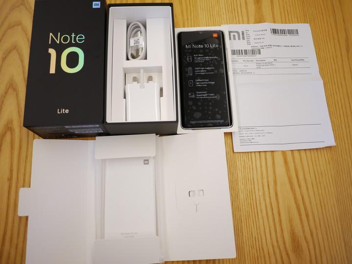小米 Note 10 lite 6g/128g 香港小米保固 2021年8月