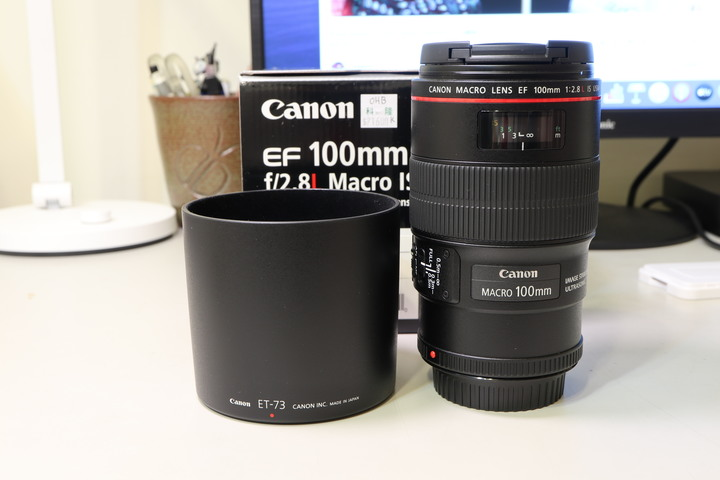 CANON EF 100mm F2.8 L MACRO IS