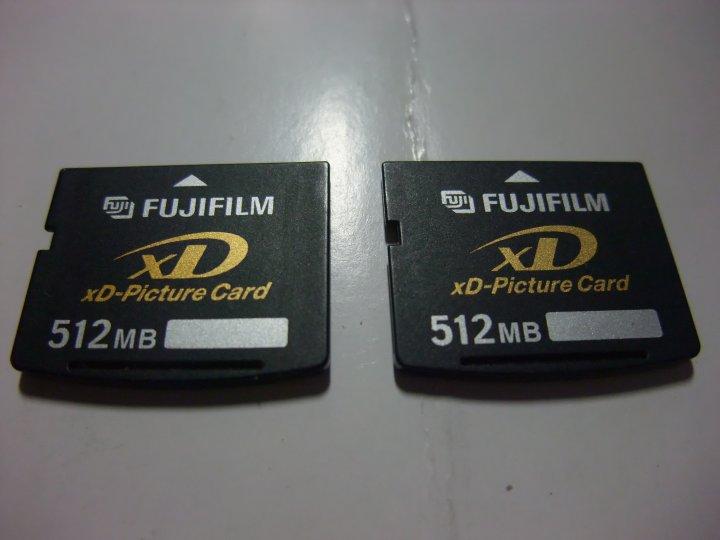 『二手』 富士FUJI老相機專用XD 512MB 記憶卡原廠公司貨