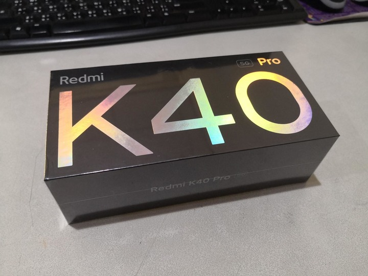紅米 Redmi K40 Pro 亮黑 8G/128G 9.9成新 陸版