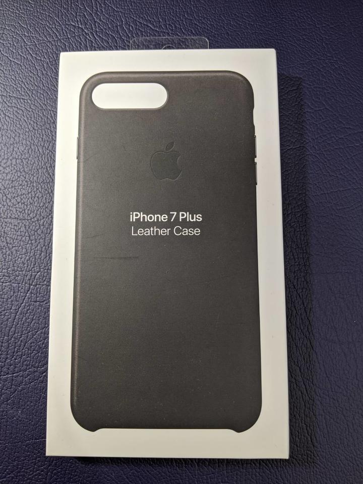 iPhone 7 & 8  Plus Leather Case Block 原廠