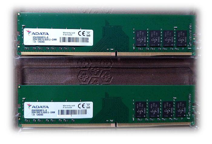 ADATA 威剛 DDR4-2666 16G (8Gx2) 記憶體(桌機/單面顆粒)