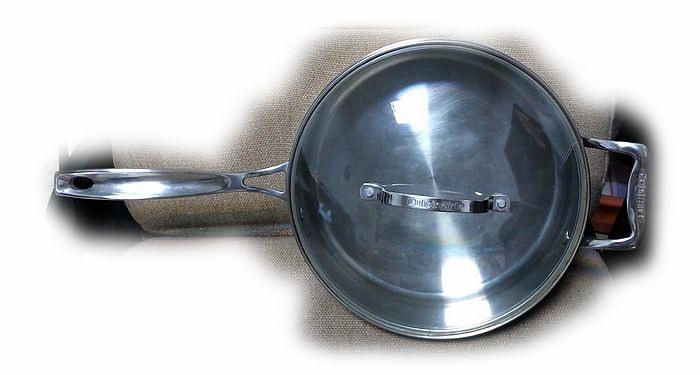 Cuisinart 美膳雅 不銹鋼 26公分 深炒鍋 (深平底鍋)