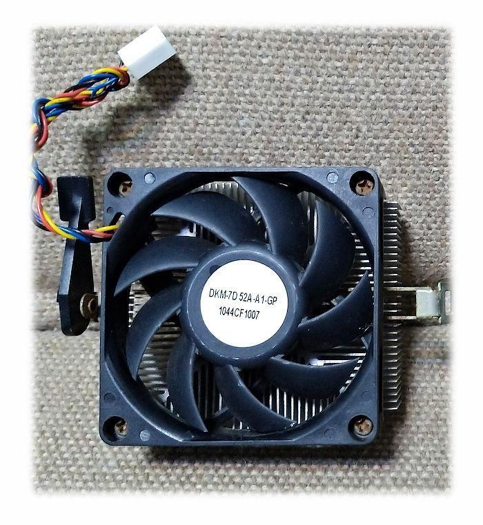 AMD 原廠 CPU 散熱器 (鋁底)