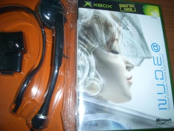 XBOX A.I 數位美少女 收藏用純日版 ~ 櫻花大戰 廣井王子作品 聲音辨識系統專用遊戲
