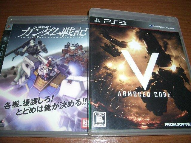 PS3 機動戰士鋼彈戰記 + 機戰傭兵5