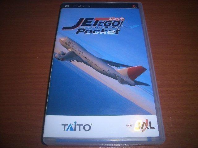 PSP 飛機向前走 jet go 全日本航空協力 JAL
