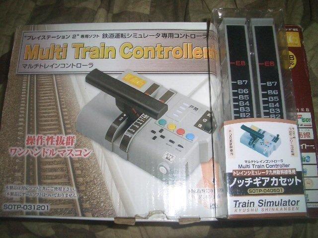 日本 PS2 對應 TAITO & 音樂館 通用鐵道控制器