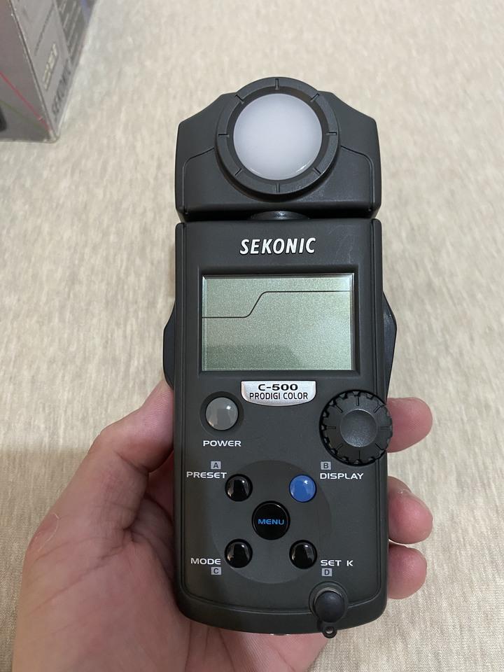SEKONIC C500色溫錶
