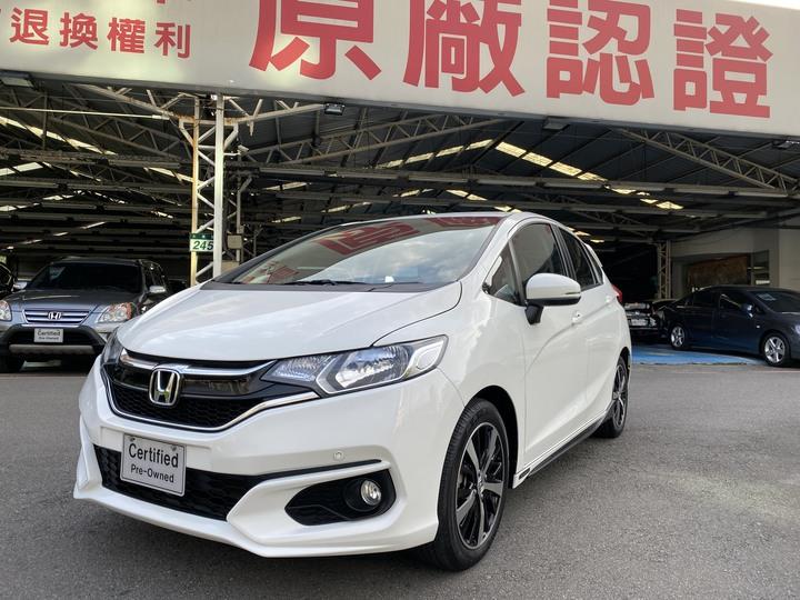 (收訂) 2017年6月 FIT 1.5 S 白 試乘車 HONDA 原廠認證