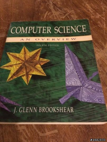 Computer science an overview 4th edition