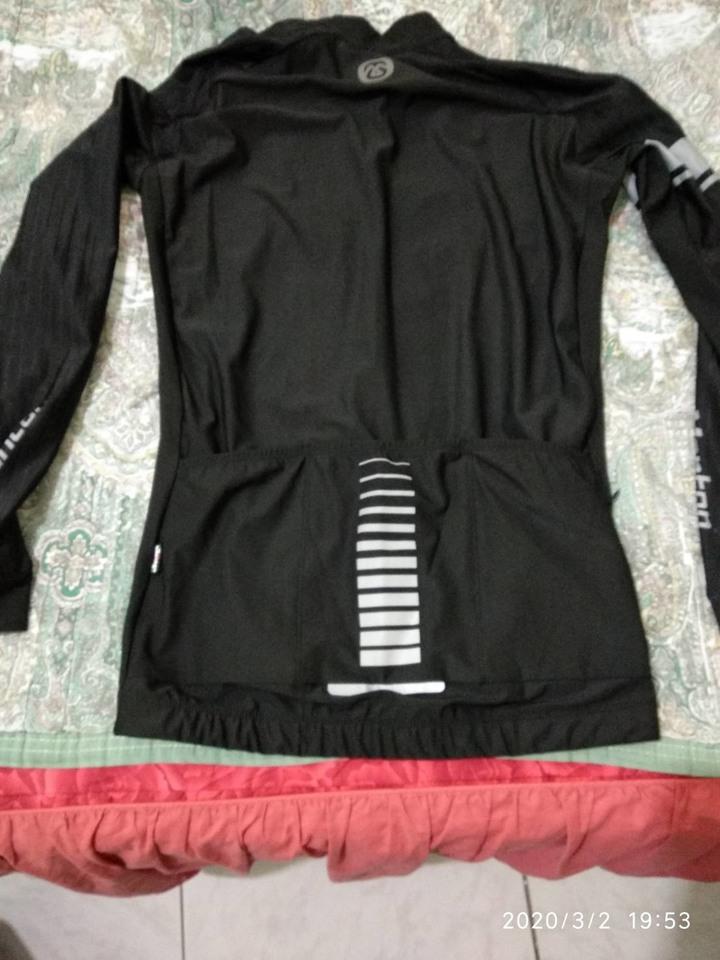 Monton 黑色長車衣