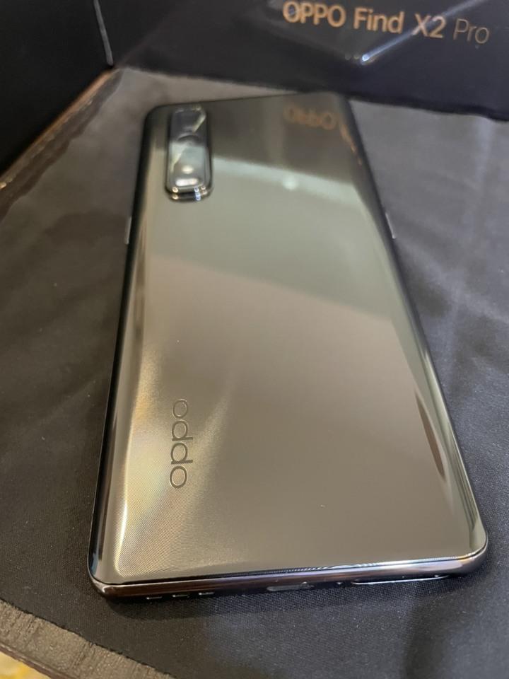 OPPO Find X2 Pro 12G/256G 黑 陸版過保盒裝配件齊