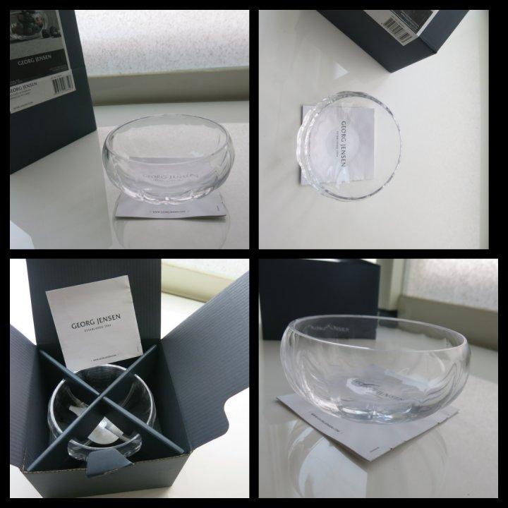 Georg Jensen喬治傑生 LEGACY 玻璃置物缽(小)設計師 Philip Bro Ludvigsen
