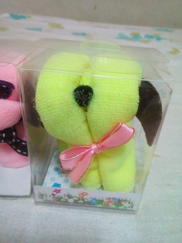 毛巾造型小狗2個