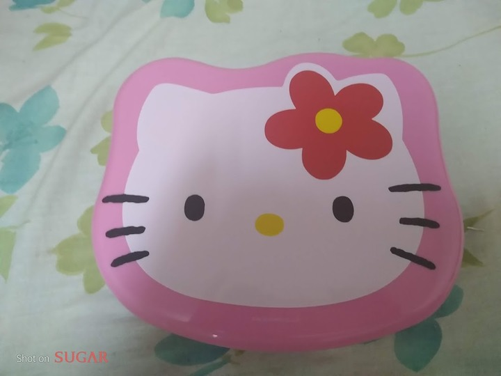 全新Holle Kitty(粉色)萬用置物盒(可放糖果、小飾品..等)