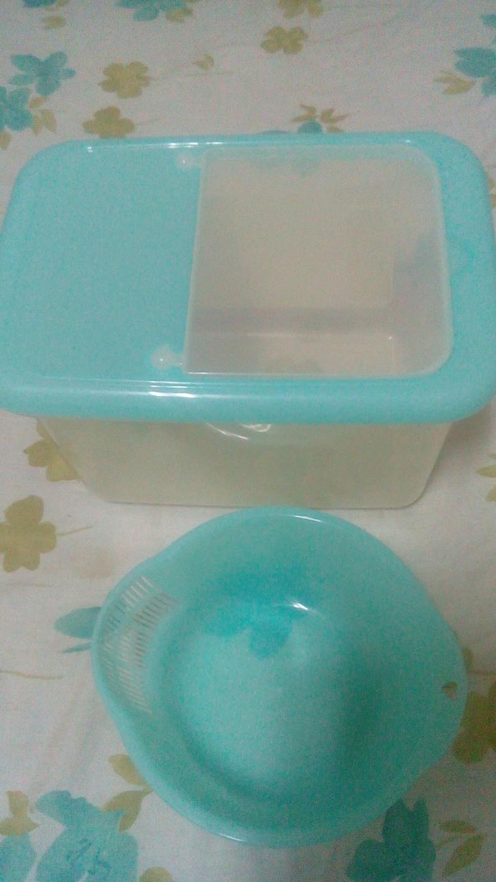 米缸、收納箱(附洗米盆)