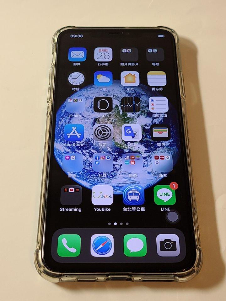2019/9月購入 iPhone 11 Pro Max 256GB 黑色
