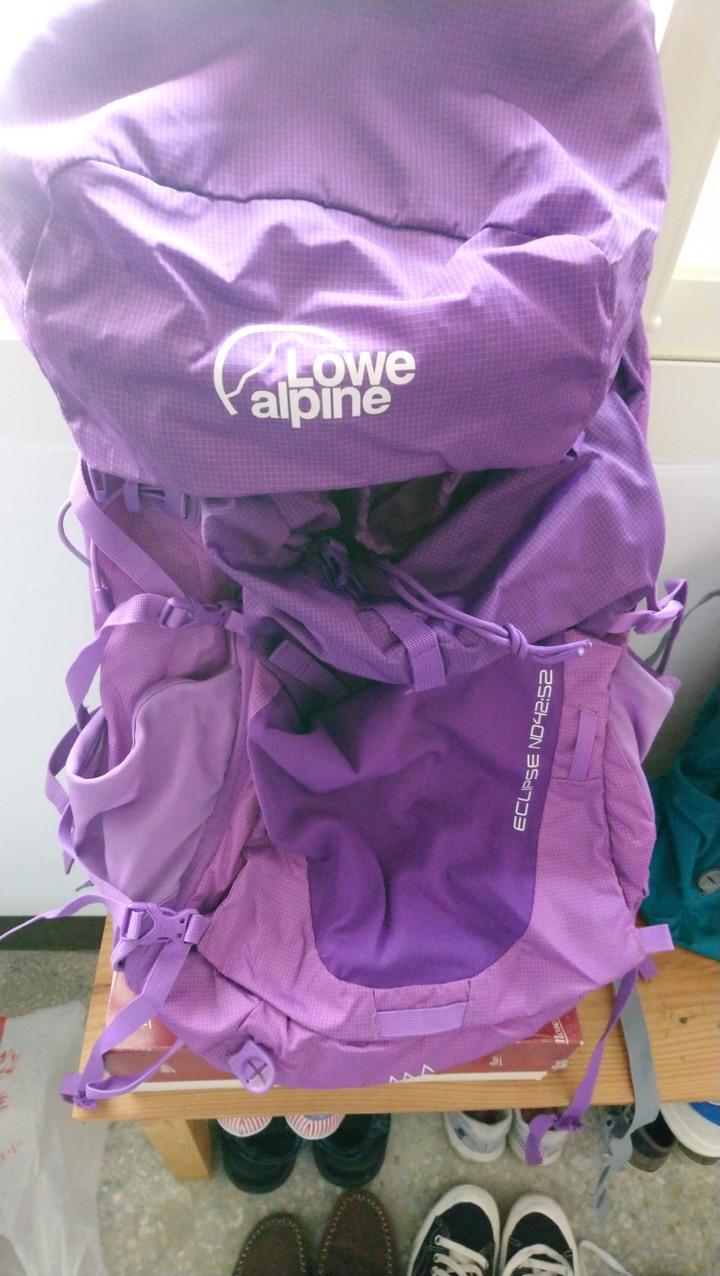 Lowe Alpine Eclipse 女用登山大包(42+10 L)