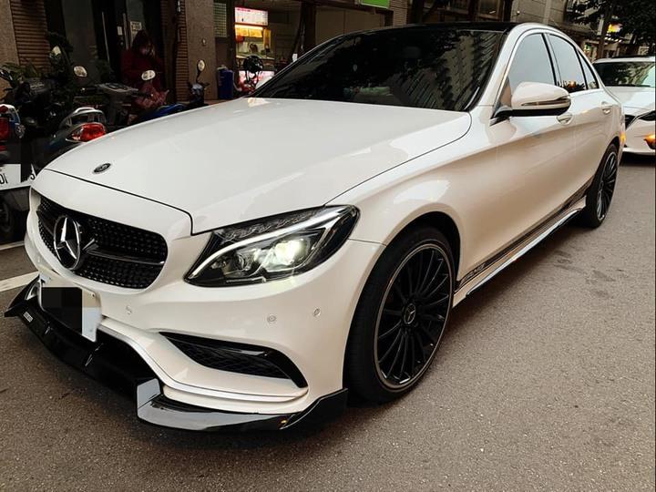(自售非車行) 2015 Merceds-Benz W205 C300/2.0/白