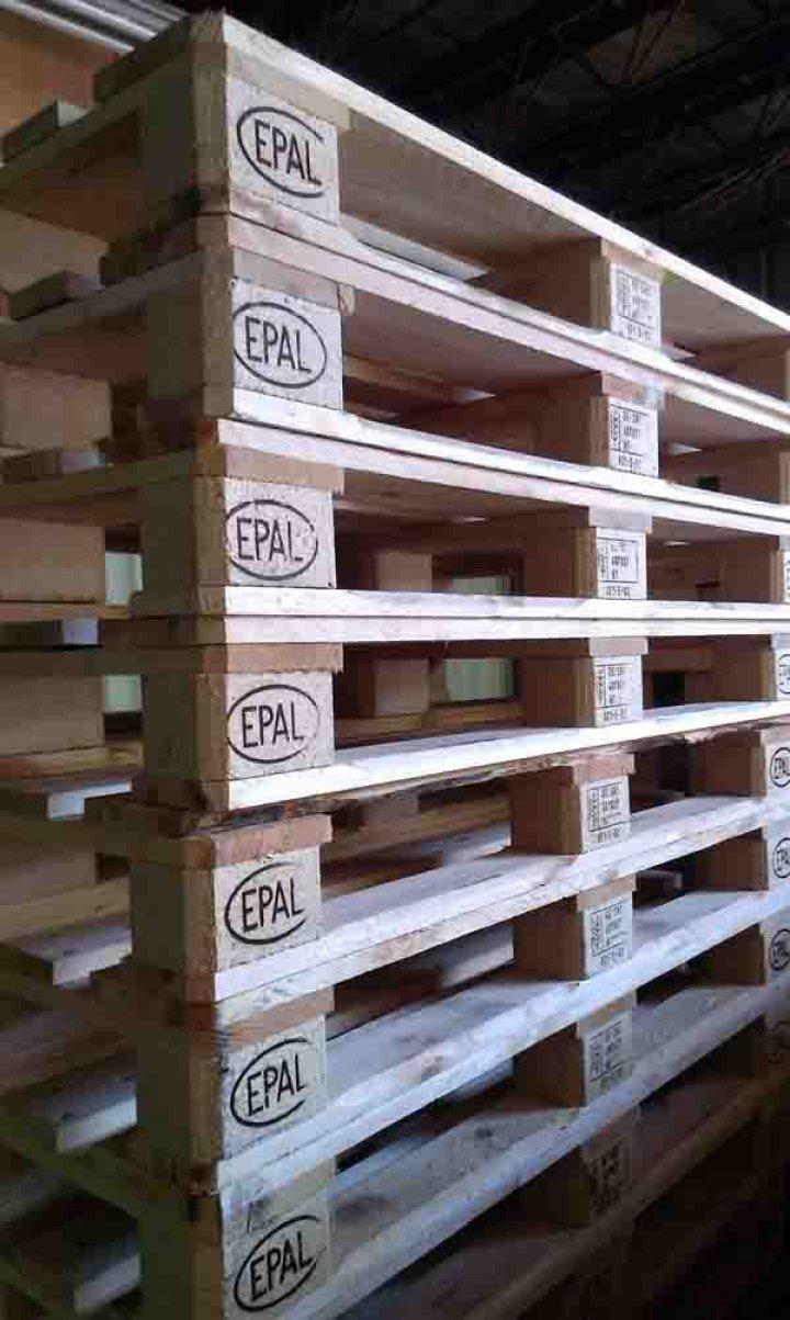 中古棧板/二手棧板/歐規棧板 EUR 120x80 8-9成新 , 可承重1噸以上 ,均已過篩選