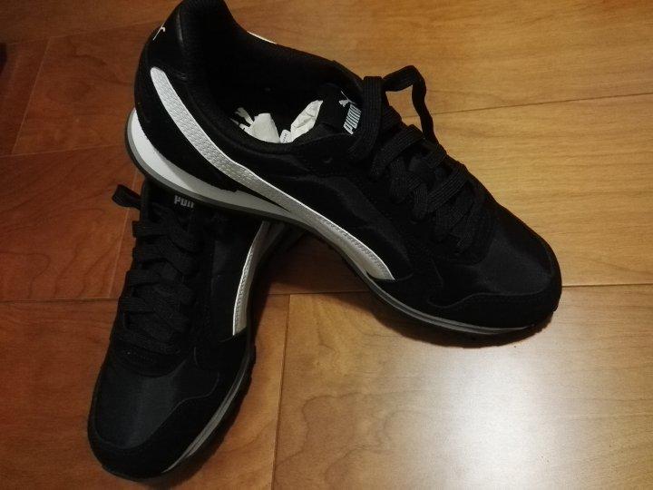 PUMA ST Runner NL男女復古慢跑運動鞋-黑