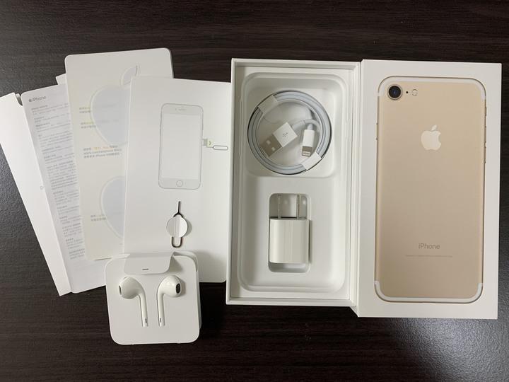 Iphone 7  128G 含全新配件