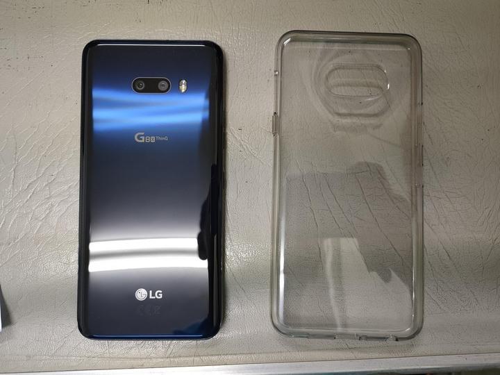 LG G8x thinq 黑