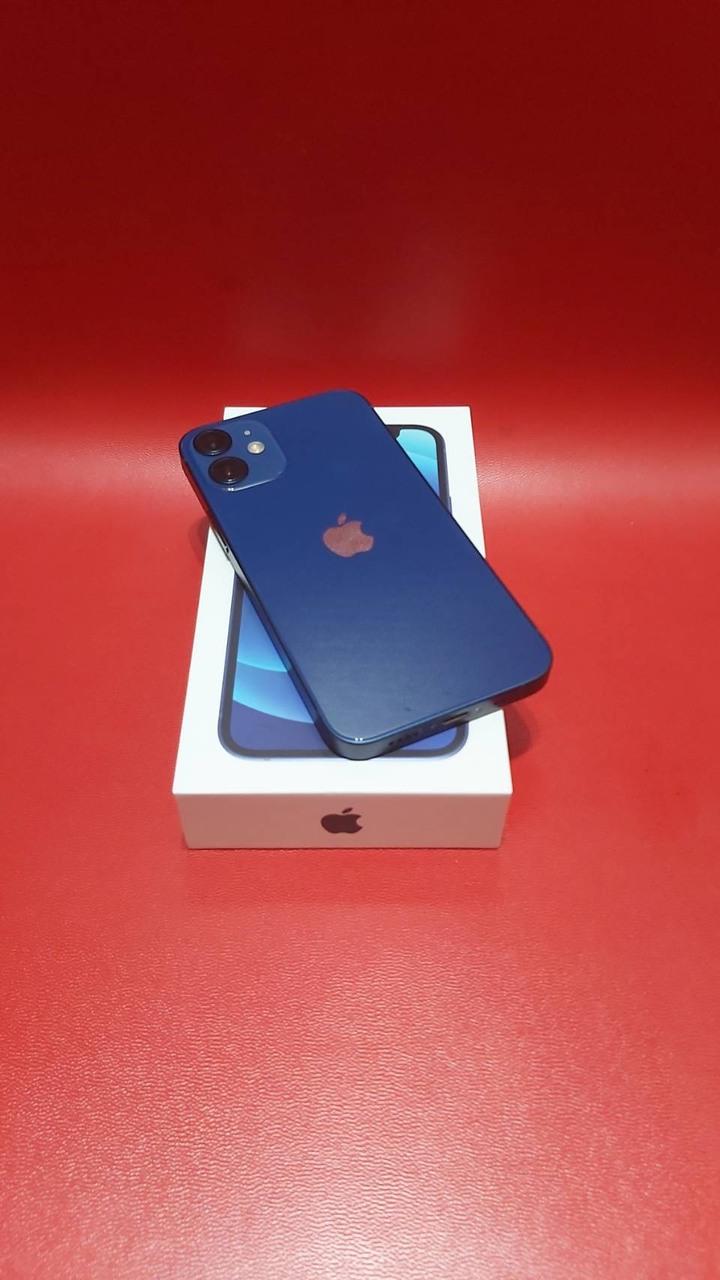 外觀極新iPhone12 mini海軍藍128G,保固到2022年6月