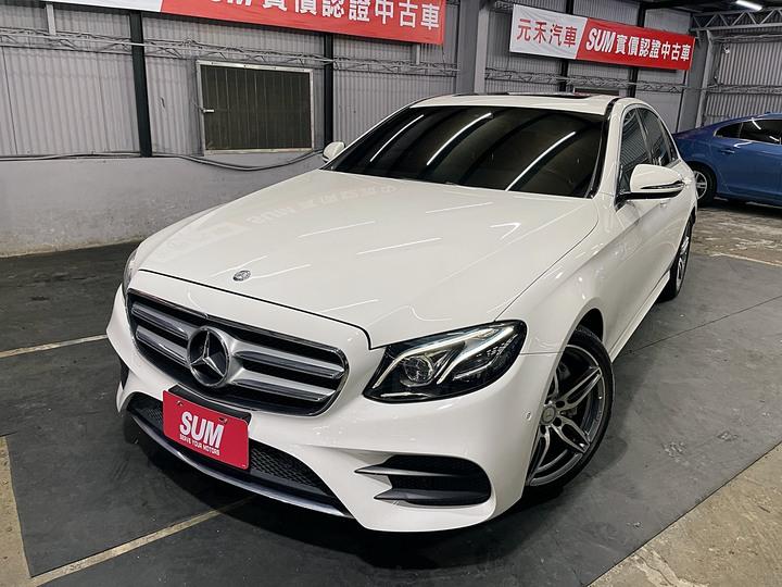 正2016年出廠 17年式 總代理 Benz (W213) E200 AMG 2.0白 sum全省認證保固一級美車,全玻璃數位儀表板超吸睛