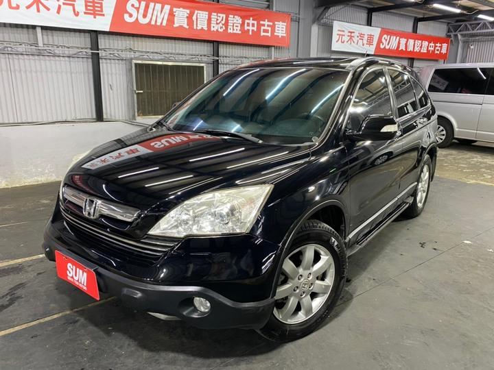 正2008年出廠 新款Honda CRV 2.4L S旗艦版 曜石黑色 四輪驅動新款美型,稀有最頂級款