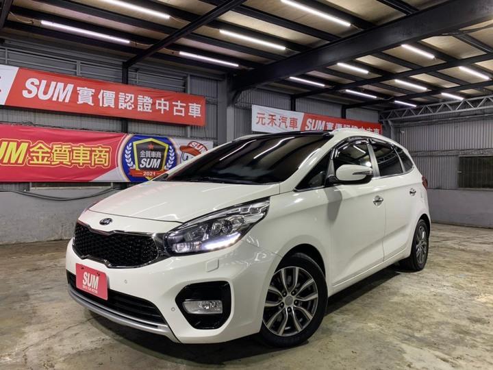 正2019年出廠 Kia Carens CRDi 柴油旗艦版 1.7d 象牙白  原廠保固內,五年不限里程 ! ! !