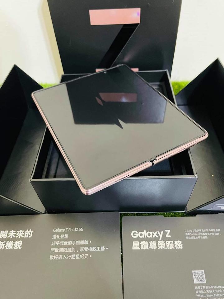 九成新 SAMSUNG Galaxy Z Fold2 5G (12G/512G)-星霧金