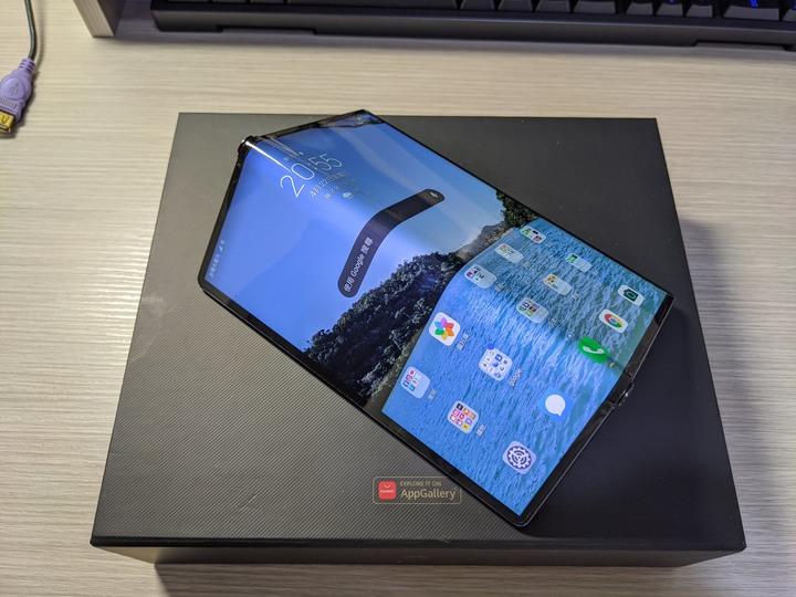 華為 Huawei mate xs 5G 摺疊屏手機 galaxy fold可參考