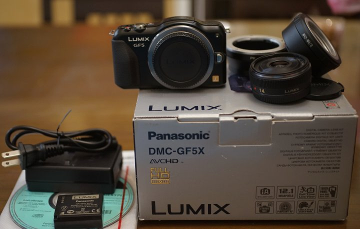 【售】PANASONIC GF5觸控美機+加購 14mm F2.5大光圈標準街拍鏡