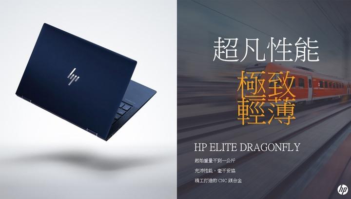 HP Elite Dragonfly 翻轉 觸控 Touch/4K UHD /i7-8565U/16G/1TB SSD 4K頂級款 wi-fi 6 0.9KG
