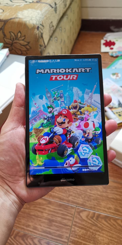 可玩馬力歐賽車 全球最輕 7 吋4g手機Sharp  SH05G 3GB+32GB 日系平板手機↗mate20 zenpad