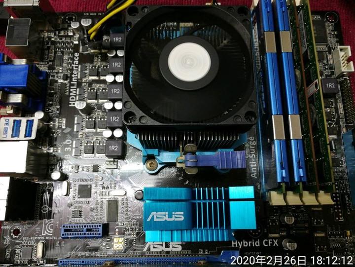 主機板+CPU+RAM