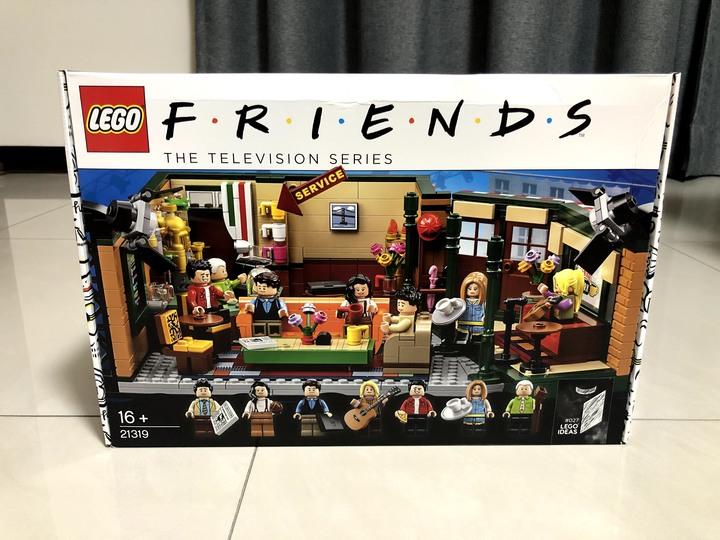 樂高電視影集「六人行」套裝~Lego Friends Central Perk Cafe Ideas Set 21319