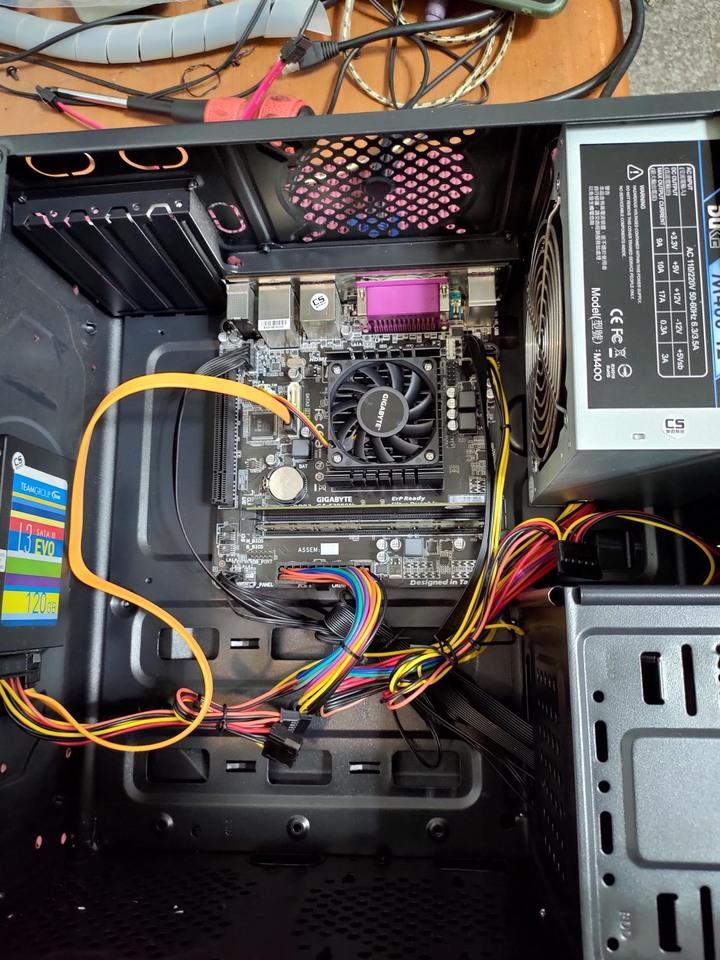 送濾掛咖啡 正版WIN10家用版 鍵盤 滑鼠 AMD GA-E3000N 處理器 8G 記憶體 120G 固態硬碟 SSD 遠距 居家工作 非 I7 電競