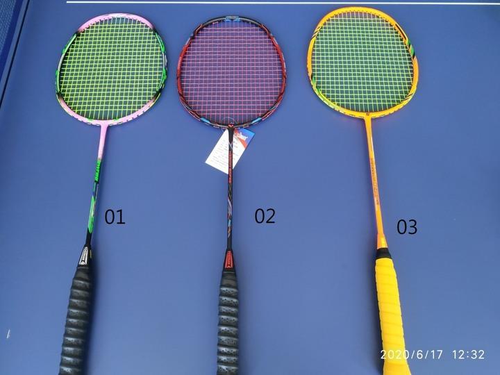 全新碳纖維羽球拍