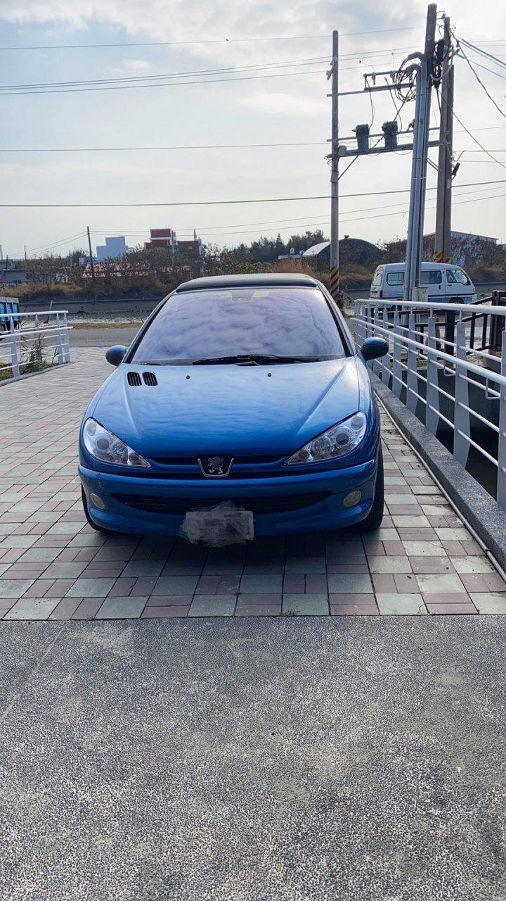 Peugeot 206 1.6 XT 3門 2002.05出廠