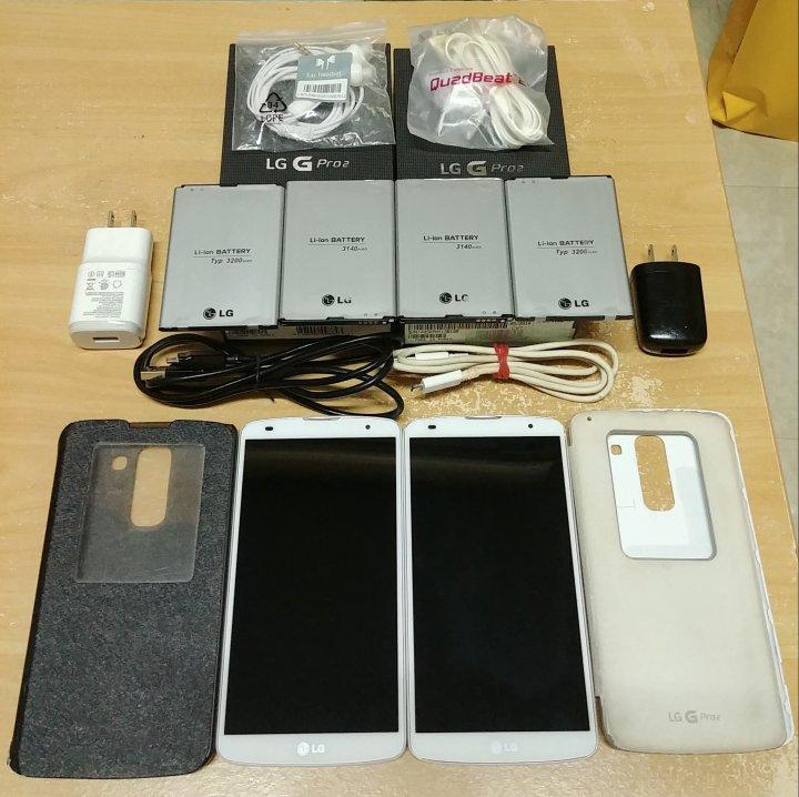 LG GPRO2經典4G白色手機