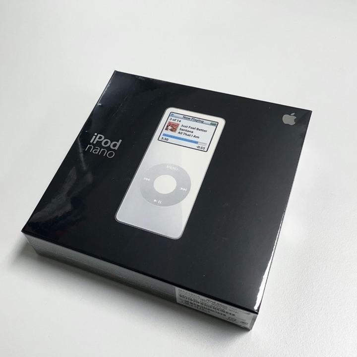 Apple iPod Nano 一代 全新未拆封