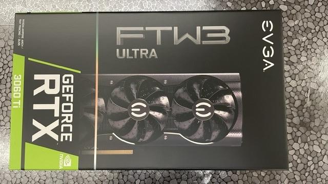 全新EVGA GeForce RTX 3060Ti FTW3 ULTRA GAMING (三風扇)
