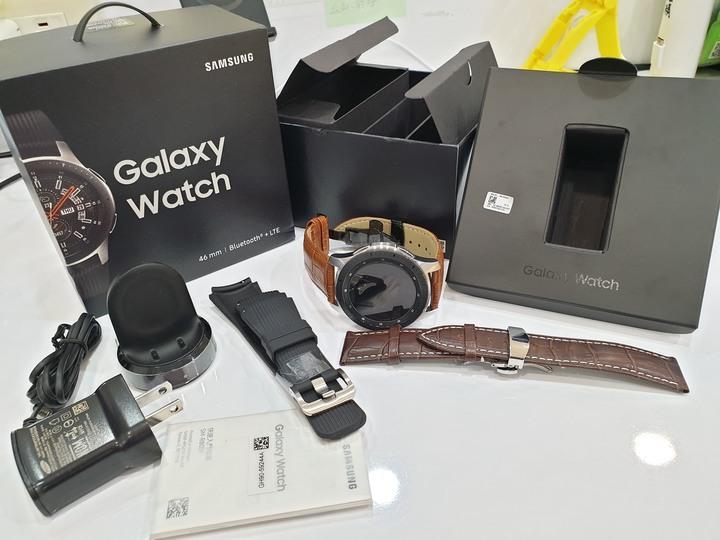 Galaxy Watch 46mm (LTE) SM-R805F 4G 可撥打電話 通話 上網 遠端 手錶 SAMSUNG 三星