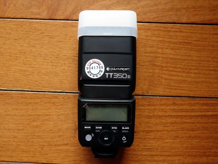 神牛閃光燈 TT350S(SONY用) 開年公司貨 膠膜未撕 近全新