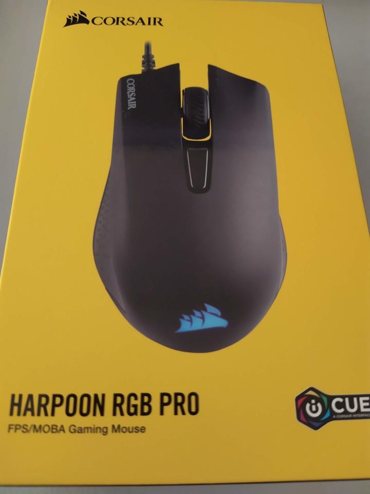 海盜船 Corsair Gaming HARPOON RGB PRO FPS/MOBA 遊戲光學滑鼠