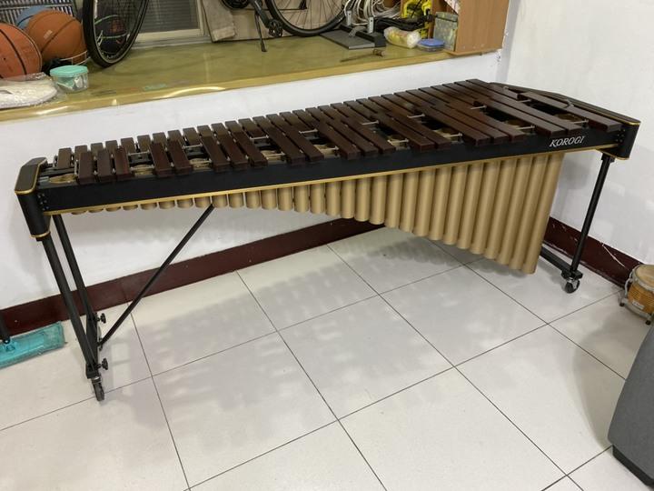 代售~日本原裝 KOROGI-722K 52寬鍵 馬林巴木琴 有付琴鎚 琴棒