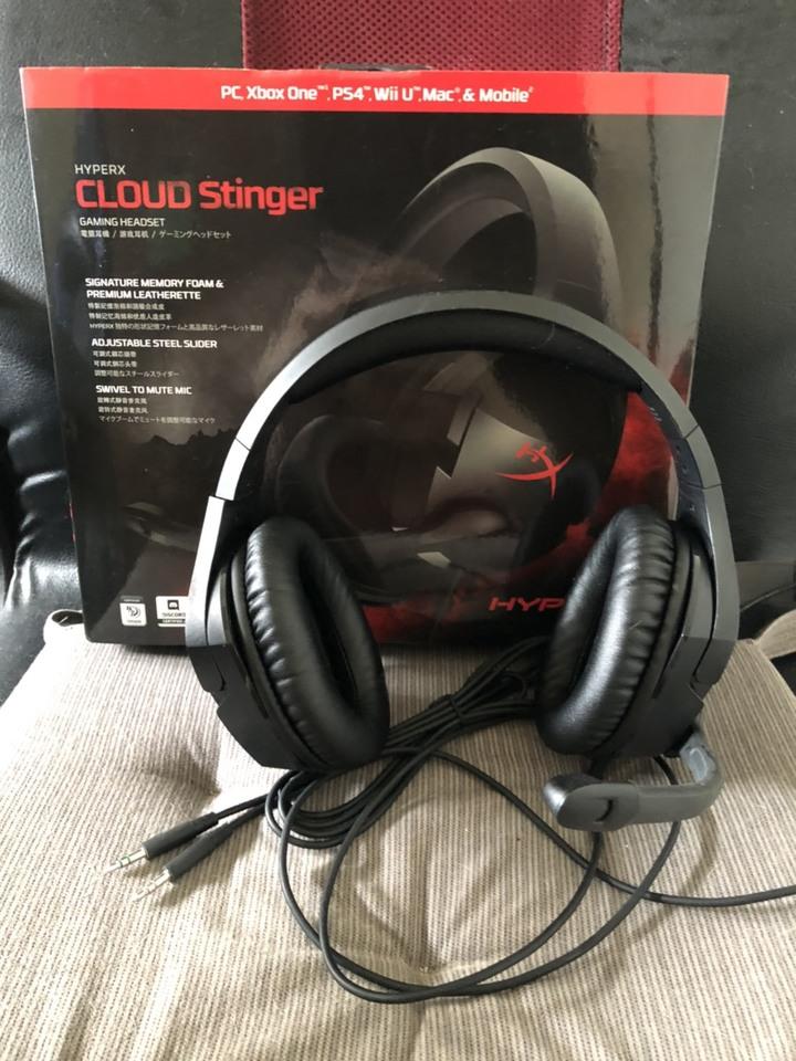 HyperX Cloud Stinger 電競耳機麥克風 九成新